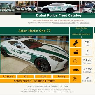 Catalog Dubai Police - Aamir Ali Ansari - EZPowerBI - Treehouse Consultancy LLC